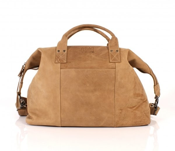 Tan Oxbridge Soft Holdall Satchel