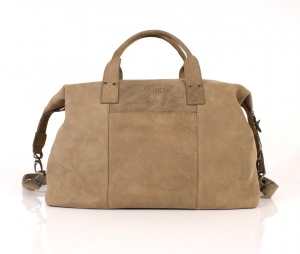Olive Oxbridge Soft Holdall Satchel