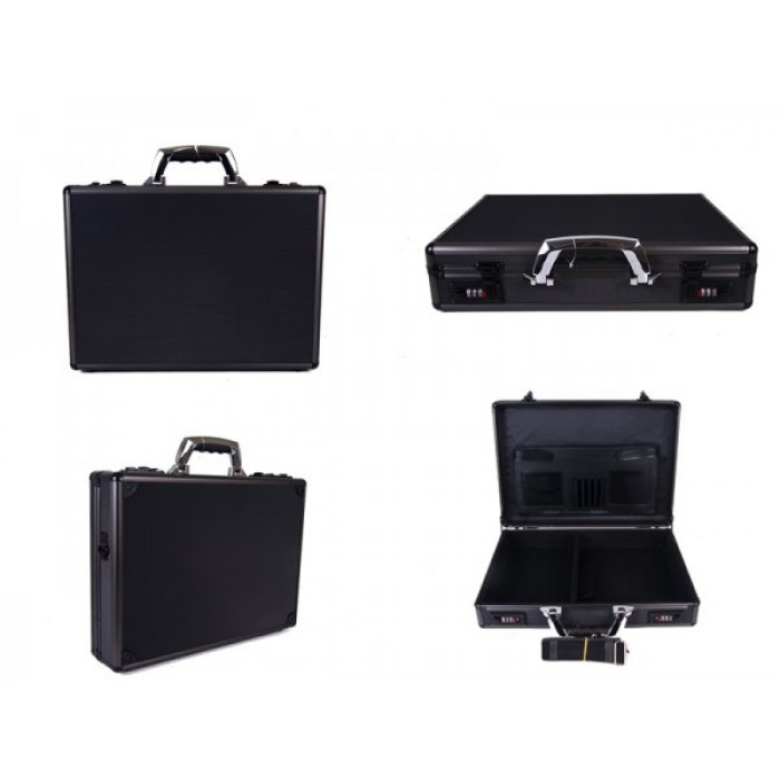 Black Aluminium Executive - Laptop Case