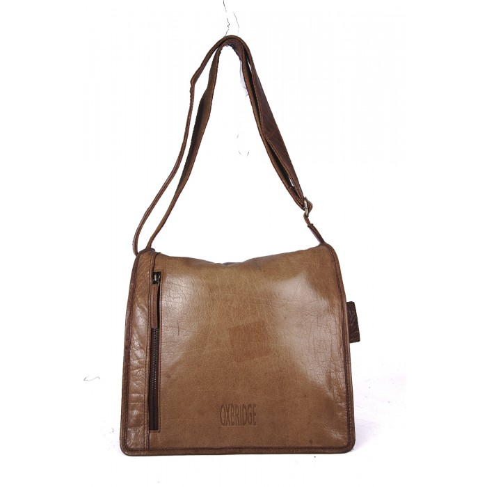 Brown Oxbridge Messenger Shoulder Bag