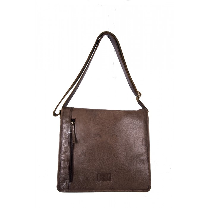 Chocolate Oxbridge Messenger Shoulder Bag