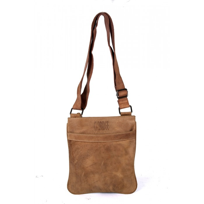 Light Brown Oxbridge Shoulder Bag