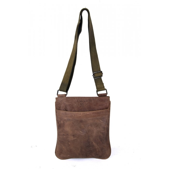 Darker Brown Oxbridge Shoulder Bag