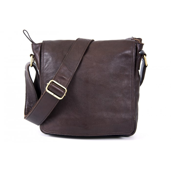 Brown Messenger Bag Finest 0802