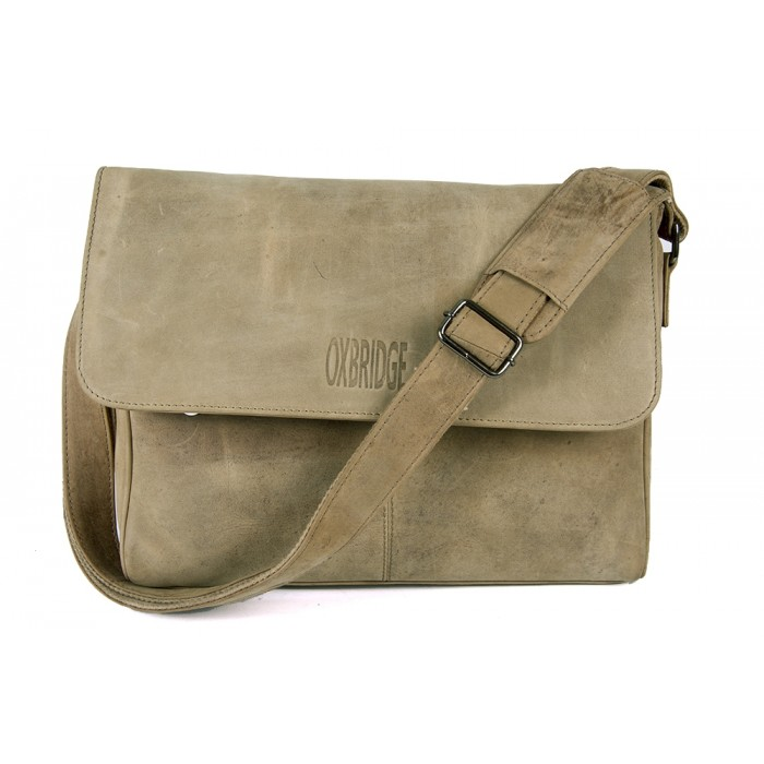 Olive Hunter Oxbridge Messenger Shoulder Bag