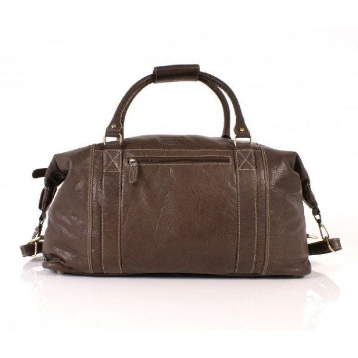Brown Oxbridge Holdall Satchel