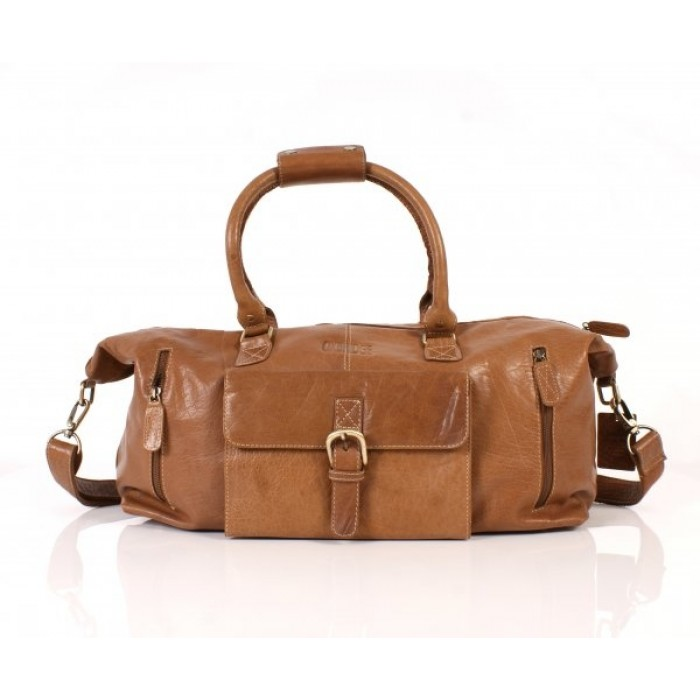Tan II Oxbridge Holdall Satchel