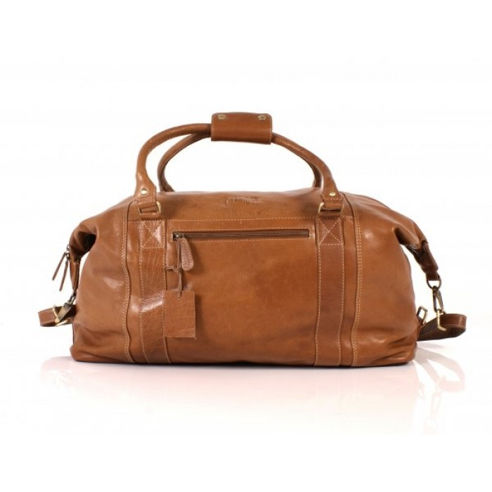 Tan Oxbridge Holdall Satchel